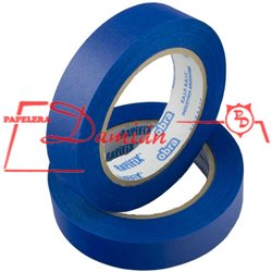 Cinta Papel Enmascarar Obra Rapifix Azul Uv 36mm X50mt