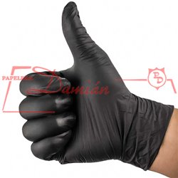 Guantes descartables Nitrilo XLarge Large