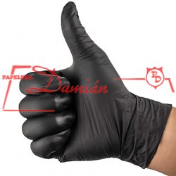 Guantes descartables Nitrilo