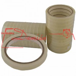 Cinta scotch grande adhesiva Polipropileno Pilcotape 12mm x 50mt