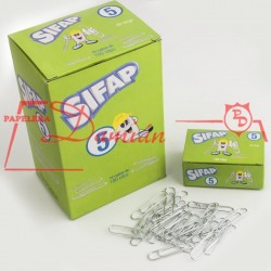 Clips metalicos 5 39mm caja x100u
